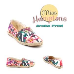 miss hamptons aruba print