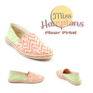 miss hamptons fluor print