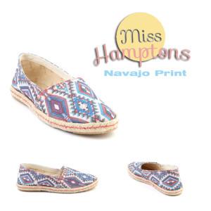 miss hamptons navajo print