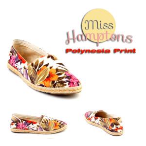 miss hamptons polynesia print