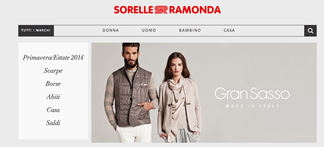 new style f23b6 bc08f Shopping online su Sorelle Ramonda | Entrophia