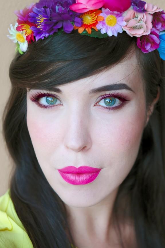 make up givenchy_maschara color sangria_givenchy noir couture rose pulsion_nunzia cillo_entrophia_tutorial make up