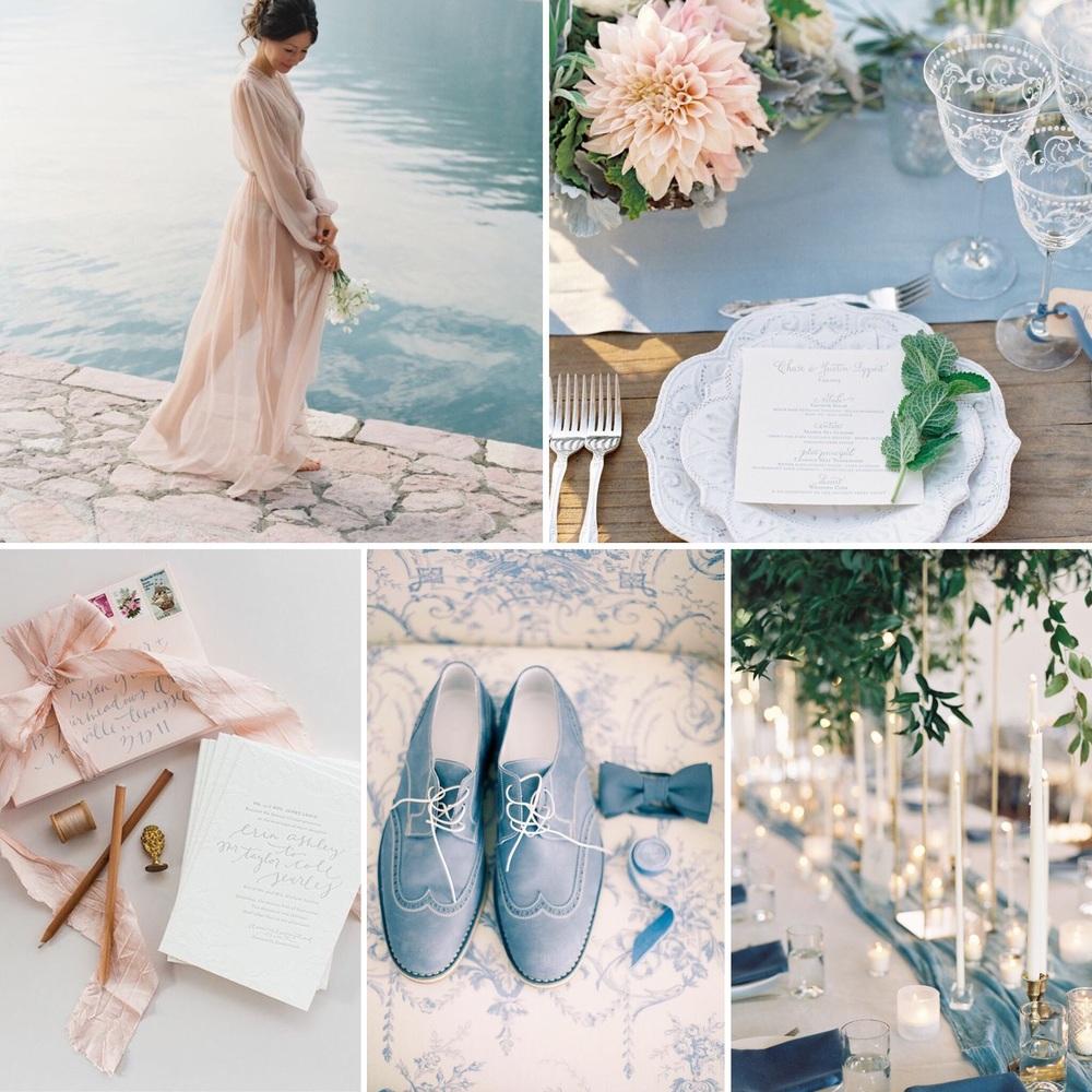 Matrimonio Rosa Quarzo E Azzurro Serenity : Colori pantone primavera estate rosa quarzo e blu serenity